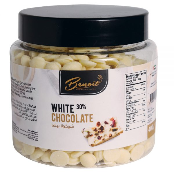real White Chocolate flavor