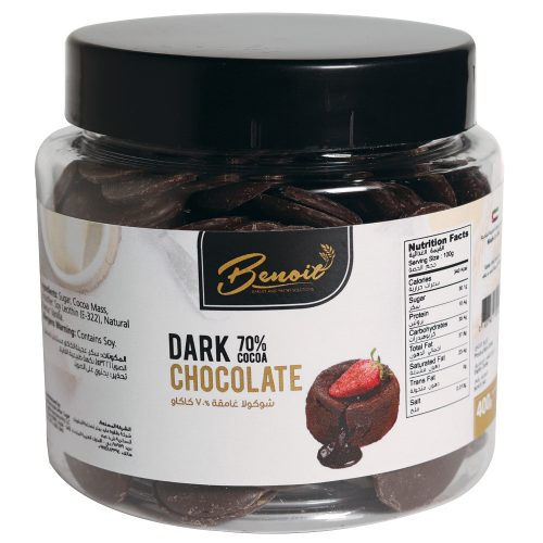70% chocolate ingredients