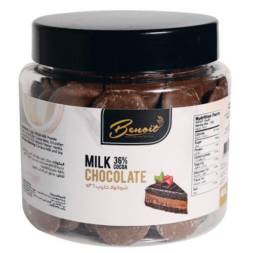 milk chocolate ingredients
