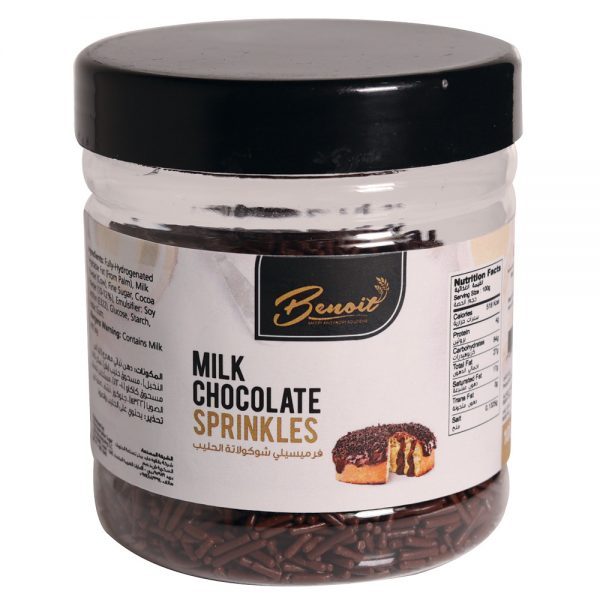milk chocolate sprinkle