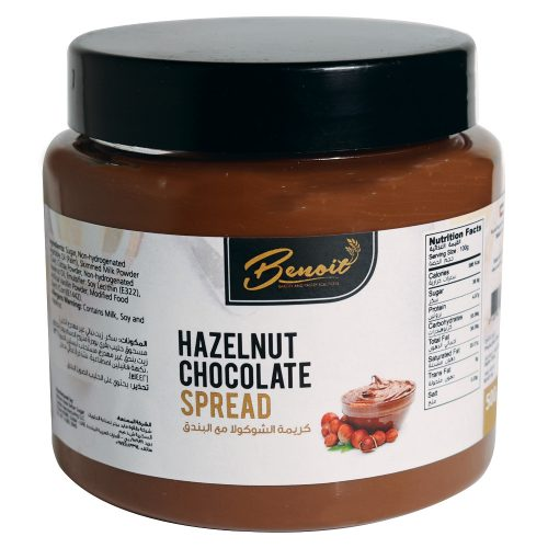 Hazelnut choco spread