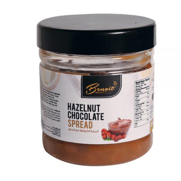 hazel nut with chocolate