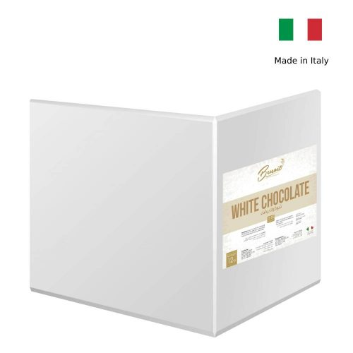 best white chocolate block from italy