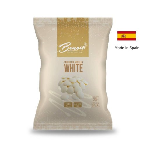 white chocolates made from spain