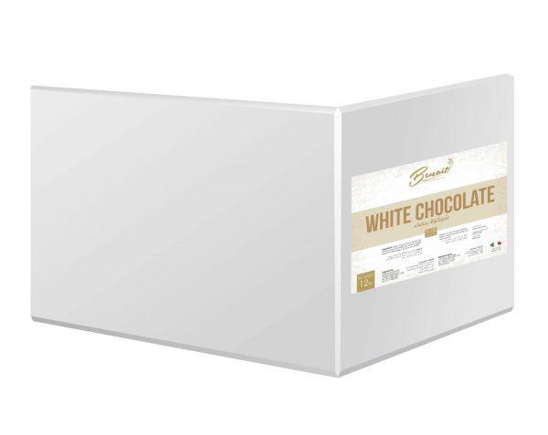 white chocolate for cake