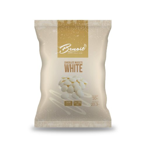 real white chocolate by benoit