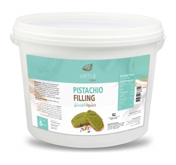 real pistachio filling