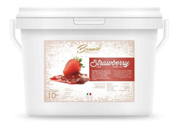 healthy strawberry jam