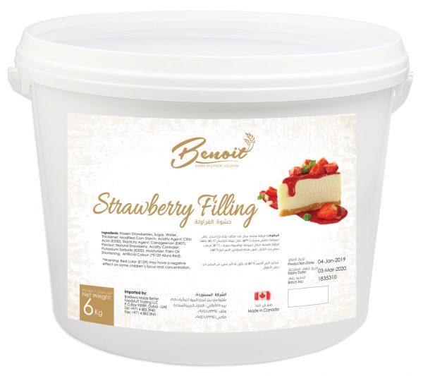 authentic strawberry flavor