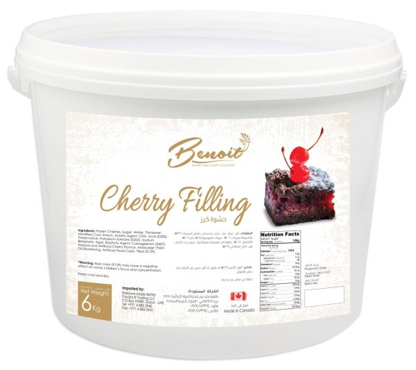 real cherry flavor fillings