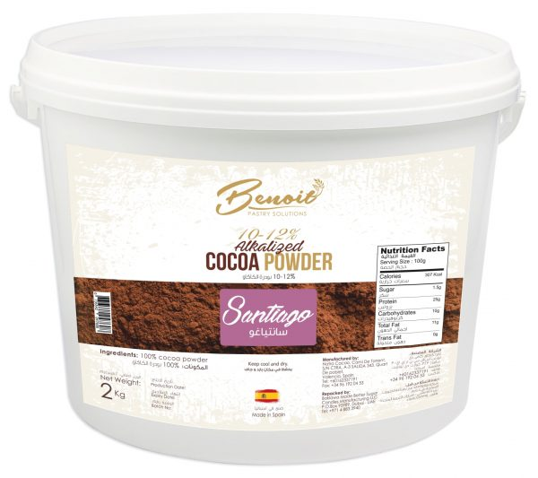 cocoa powder from natural cocoa seed