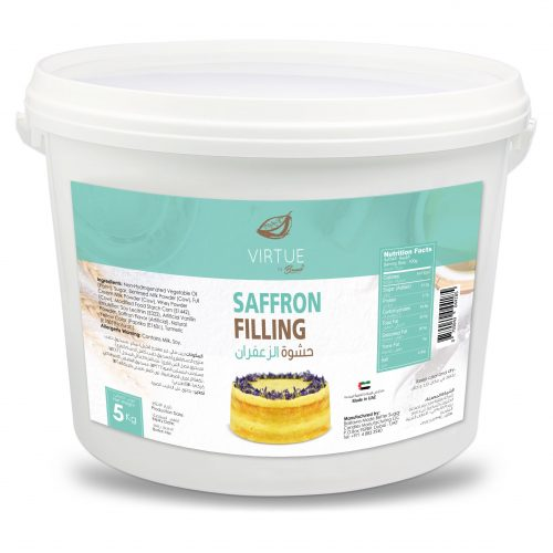 tasty saffron filling