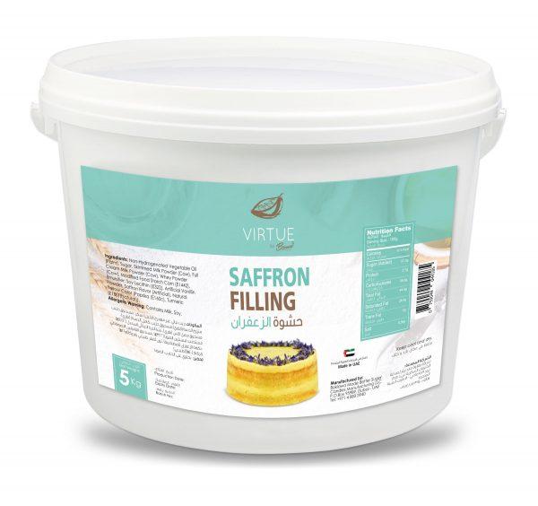 tasty saffron filling