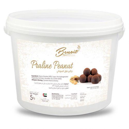 Praline peanut filling